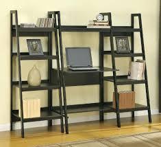 shelves superb leaning shelf desk furniture ideas home shelf