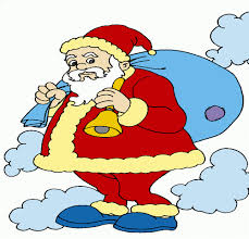 santa clause christmas gifts coloring pages kids color
