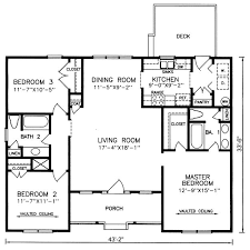 cottage floor plans one story simple open floor house plans homes floor plans