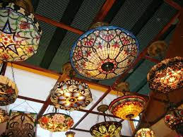 Stained Glass Ceiling Fan Light Shades Stained Glass Ceiling Fan L Shades Stained Glass Ceiling Add