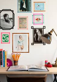 Washi Tape Wall Designs by 6 Ways To Decorate Your Rental U2014without Losing The Deposit Washi