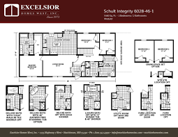 schult integrity 6028 46 1 excelsior homes west inc