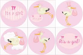 stork cake topper 24 it s a girl stork cake toppers cupcakes