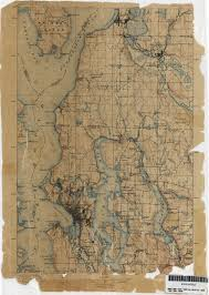 Map Of Seattle Washington Historical Topographic Maps Perry Castañeda Map