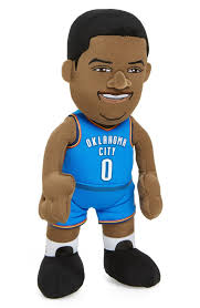 Okc Thunder Home Decor Bleacher Creatures Oklahoma City Thunder Russell Westbrook Plush