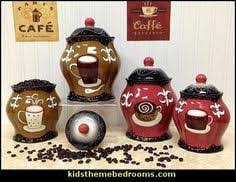 coffee themed kitchen canisters new coffee themed canister sugar bowl creamer kitchen decor