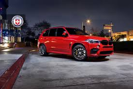 melbourne red bmw x5 m with hre p200 wheels in brushed dark clear