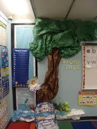 story tree back to school display
