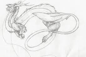 chinese dragon sketch by dragoncharmerolivia on deviantart