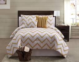 Gold Bed Set Zigfield 5 100 Cotton Comforter Set Gold