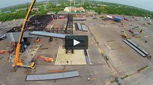 Six Flags Movies Deepwater Horizon Set Construction On Vimeo
