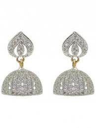 diamond earrings embellish american diamond earrings m41 ner22 cilory