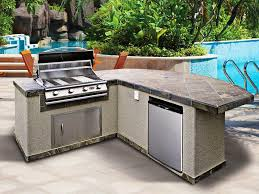 outdoor kitchen island kits basic outdoor kitchen kits considerations
