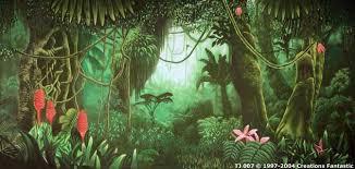 jungle backdrop tj 007 tropical jungle 7