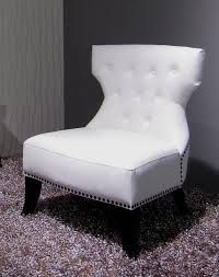 White Leather Accent Chair Stunning White Leather Club Chair Gallery Liltigertoo