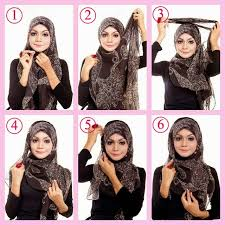 tutorial hijab segitiga paris simple simple tutorial hijab segi empat 2015 hijabiworld