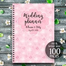 wedding binder pink wedding planner printable wedding binder pink wedding book