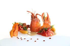 diapason cuisine homard bleu de bretagne aux abricots picture of le diapason