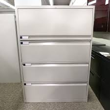 Used Lateral File Cabinets Used Teknion 4 Drawer 36 Lateral File Cabinet Fil1497 003