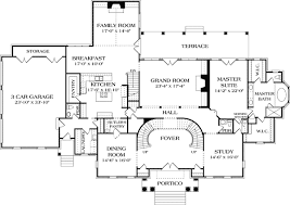 georgian mansion floor plans stately georgian manor 17563lv architectural designs house plans