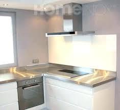 plaque aluminium pour cuisine inox autocollant pour cuisine credence mal cuisine detroit dress
