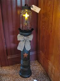 20 best primitive decorating ideas primitives jar lamp and craft
