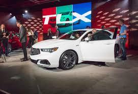 lexus ls vs acura tlx car pro acura debuts precision inspired 2018 acura tlx