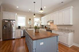 blue kitchen island cabinets gorgeous contrasting kitchen island ideas pictures