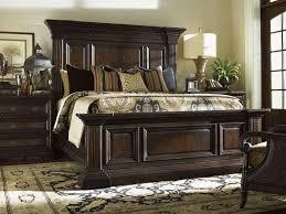 Elegant Bedroom Furniture Exterior Elegant Dark Tufted Bed By Tommy Bahama Furniture With