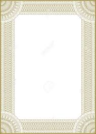 frame for diploma guilloche vector frame for diploma or certificate royalty free