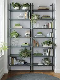 9 ideas for creating a stylish bookshelf greenery plants