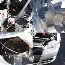 how to install led lights in car headlights cree h7 led headlight conversion kit h7 led headlight bulbs