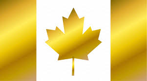Canadian Flag Symbol Canada Flag Flag Of Canada Gold 2 Icons Creative Market