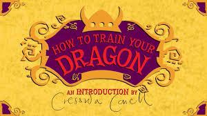 cressida cowell introduces train dragon 12 final