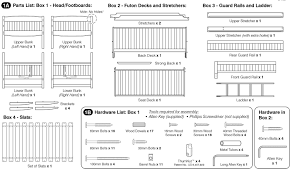 Amazing Metal Bunk Bed Parts  Perfect Image ReferenceBedroom - Futon bunk bed instructions