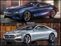 compare lexus vs bmw photo comparison bmw 8 series concept vs mercedes benz s class