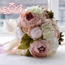 artificial peonies aliexpress buy vintage artificial peonies bridal