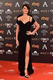 Red Carpet Entertainment Premios Goya 2017 Versace Red Carpet And Atelier Versace