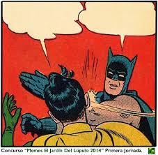 Meme Batman Robin - el meme de batman cacheteando a robin cumple 50 a祓os comics e