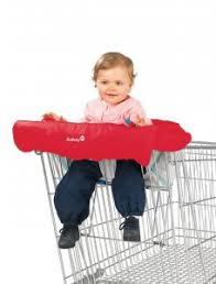 siege de caddie les housses de caddie protège bébé top poussette