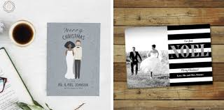 Newly Wed Christmas Card 20 Christmas Cards For Couples U0026 Newlyweds Southbound Bride