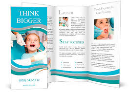 office brochure templates sitting in the dentists office brochure template