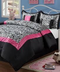 beatrice home pink sassy zebra comforter set zulily