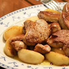 cuisiner foie gras frais recette foie gras poelé aux pommes