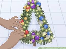 how to make a tree wreath 10 steps with pictures
