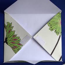 easy folded paper envelope tutorial