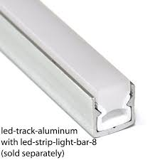 Exterior Led Strip Lighting Aluminum Track For Led Strip Lighting 98 Inches Long