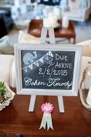 baby shower chalkboard 6 tips for a simple elephant baby shower kate aspen