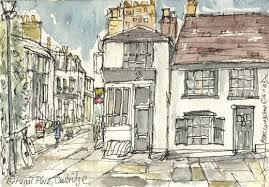 pen u0026 watercolour sketches u0026 drawings portugal place cambridge
