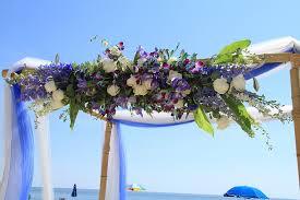 wedding arches rental virginia floral sprays